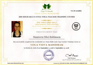 Qualified Yoga Teacher Certificate