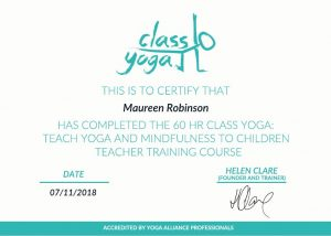 Teach Yoga and Mindfulness to Children Certificate